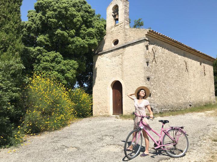 Le Luberon à vélo + une vidéo!