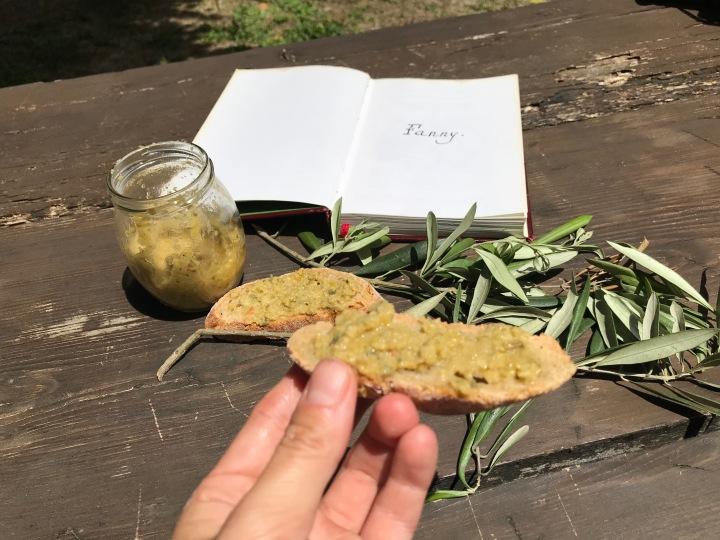 La recette de ma tapenade aux olivesvertes
