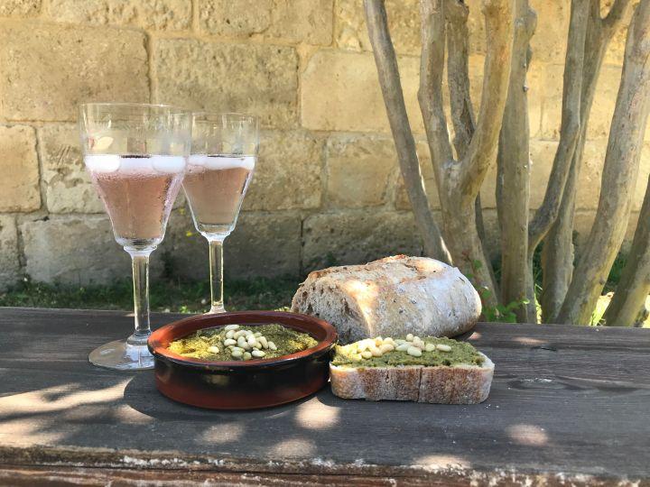 Un week-end dans le Gard + ma recette de pesto!
