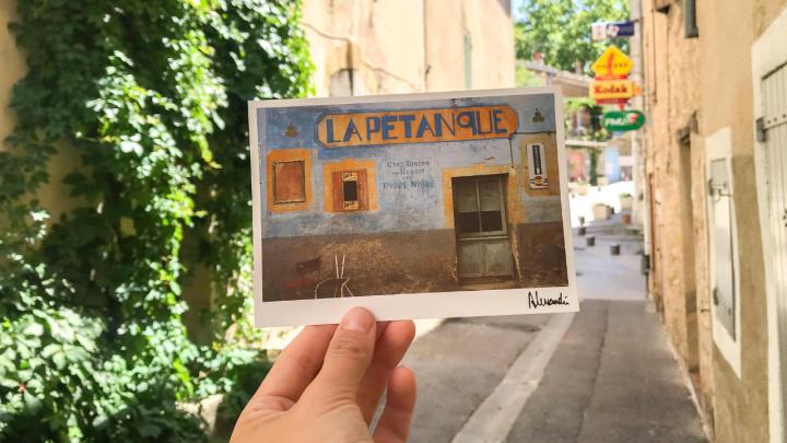 Je vous envoie une carte postale!